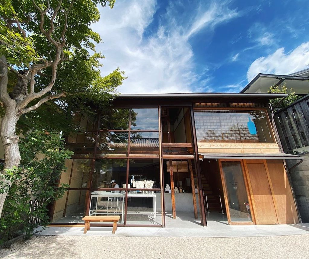 Kyoto cafes - blue bottle coffee