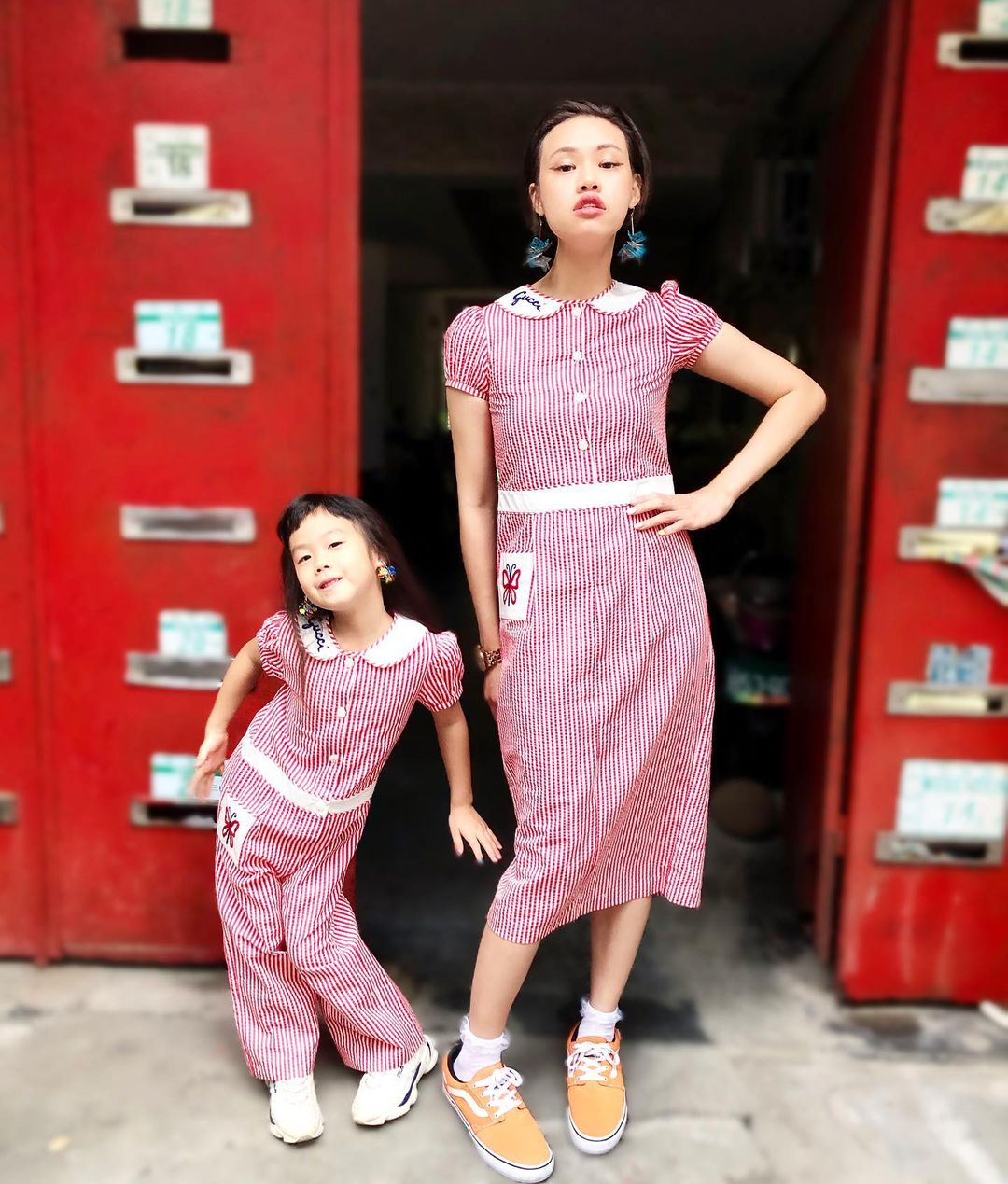 japanese street fashion - pink outfit