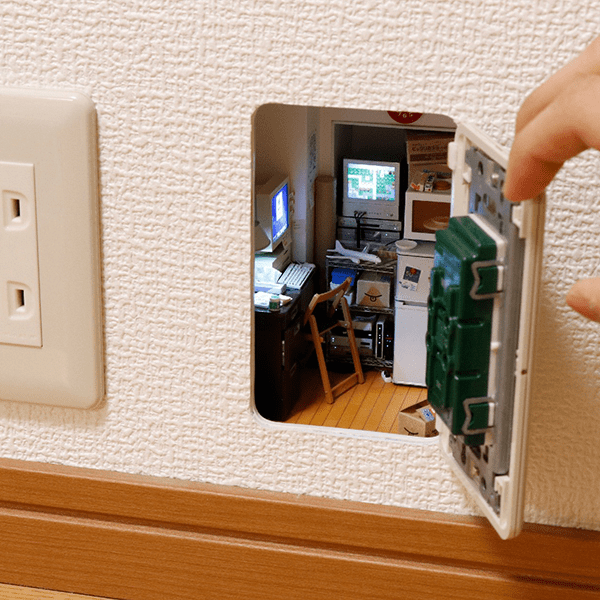 japanese miniature artist mozu - room in the wall