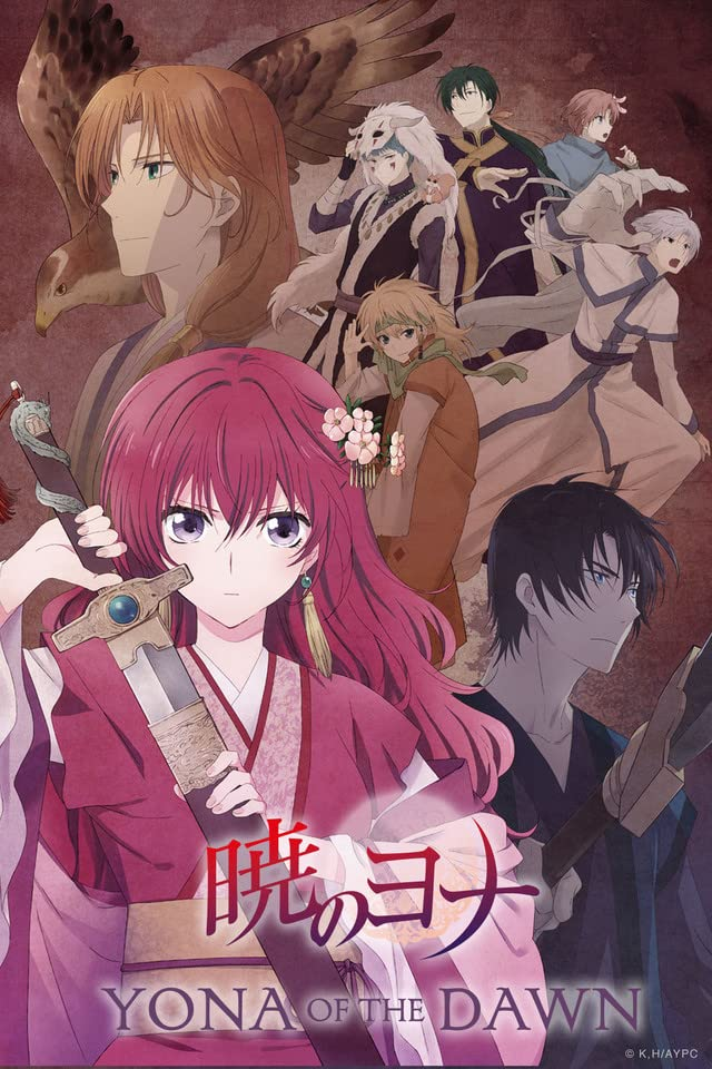 historical anime - yona of the dawn