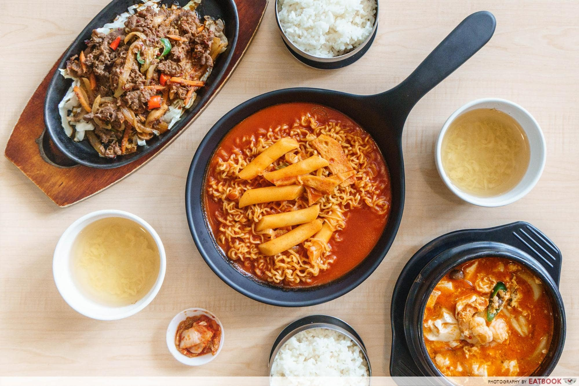 Korean Phrases For Ordering Food Ramyeon
