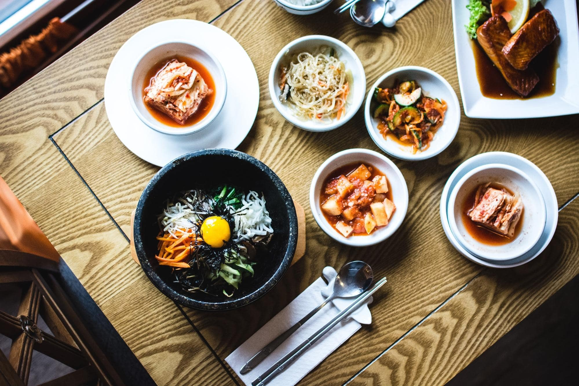 Korean Phrases For Ordering Food Bibimbap