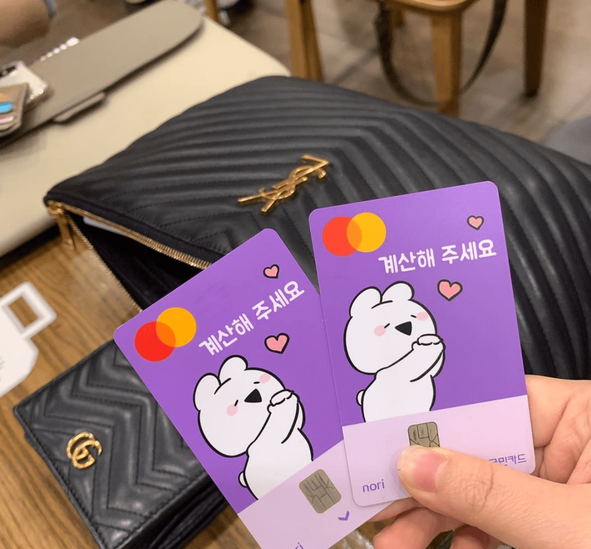 Korean Phrases For Ordering Food Cards