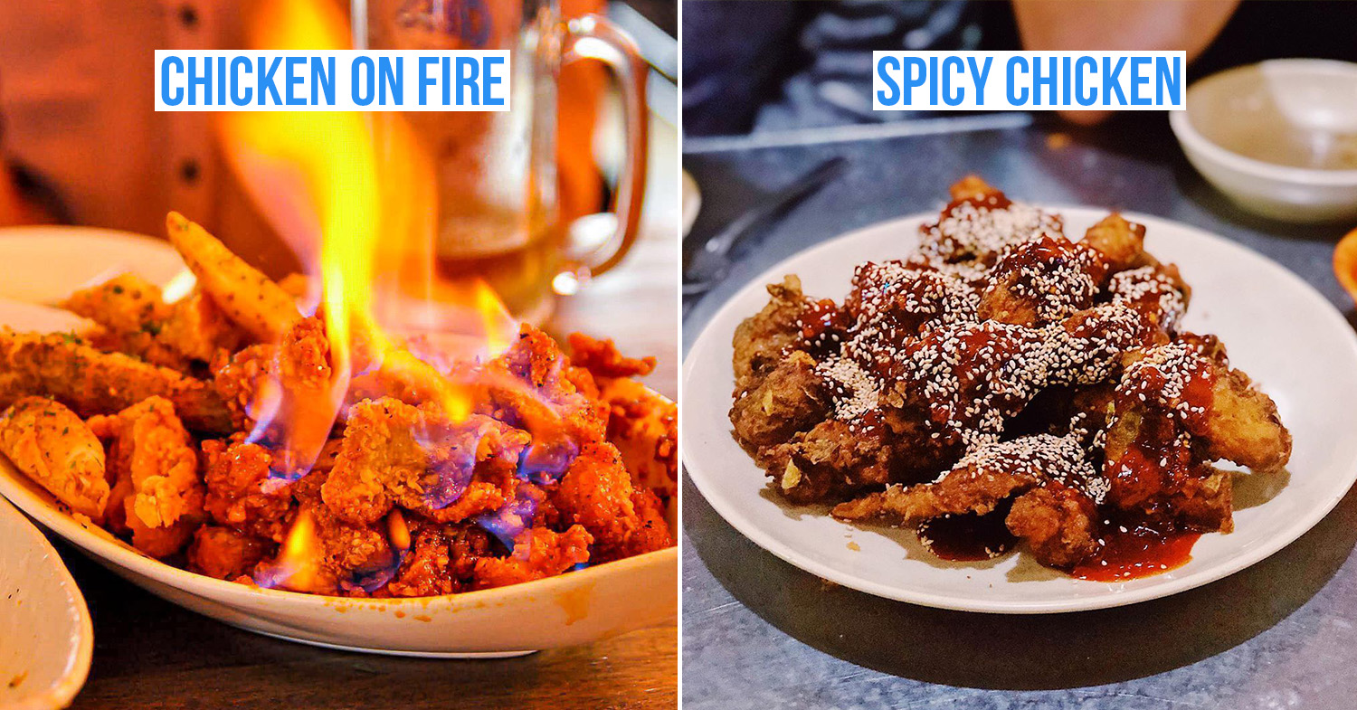 Korean fried chicken cover image