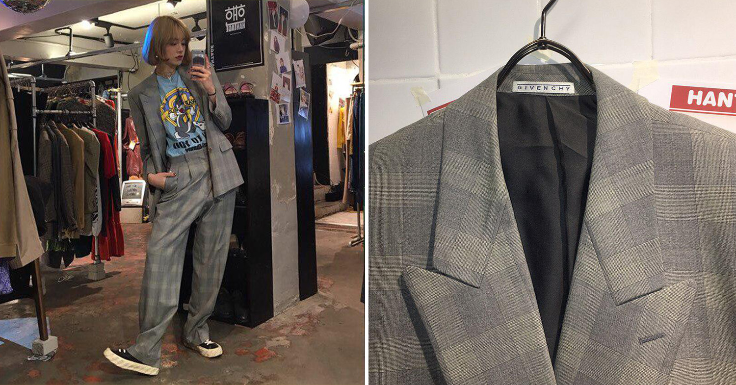 Hantage Givenchy suit