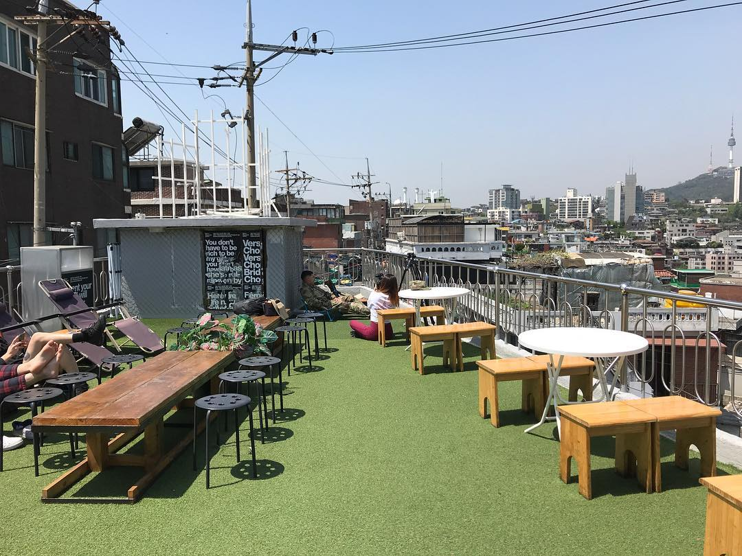Mmm Records rooftop