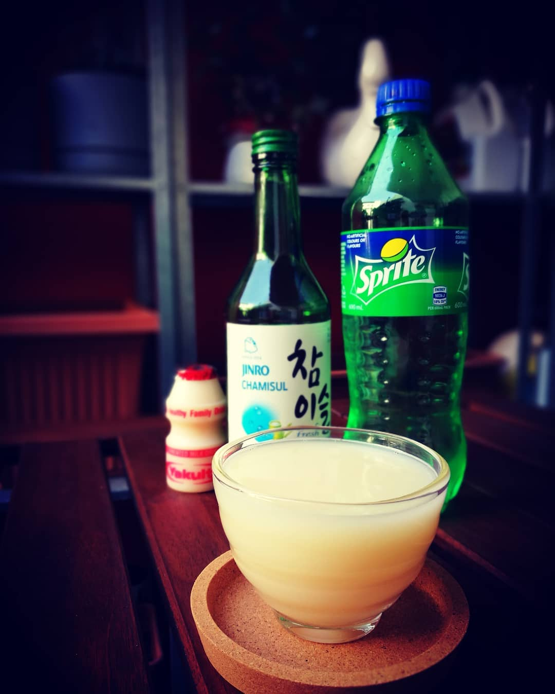 Yogurt soju