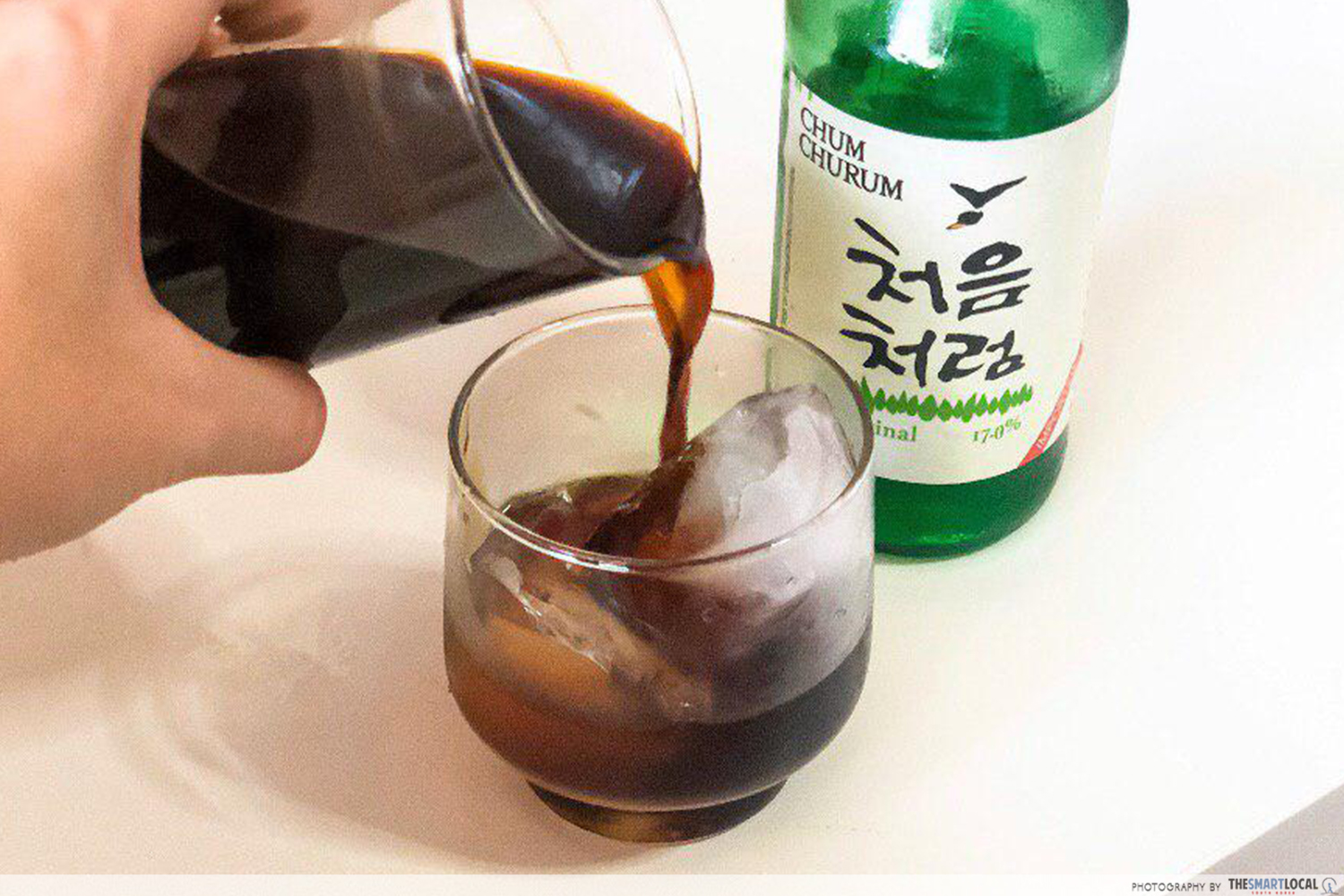 Coffee soju