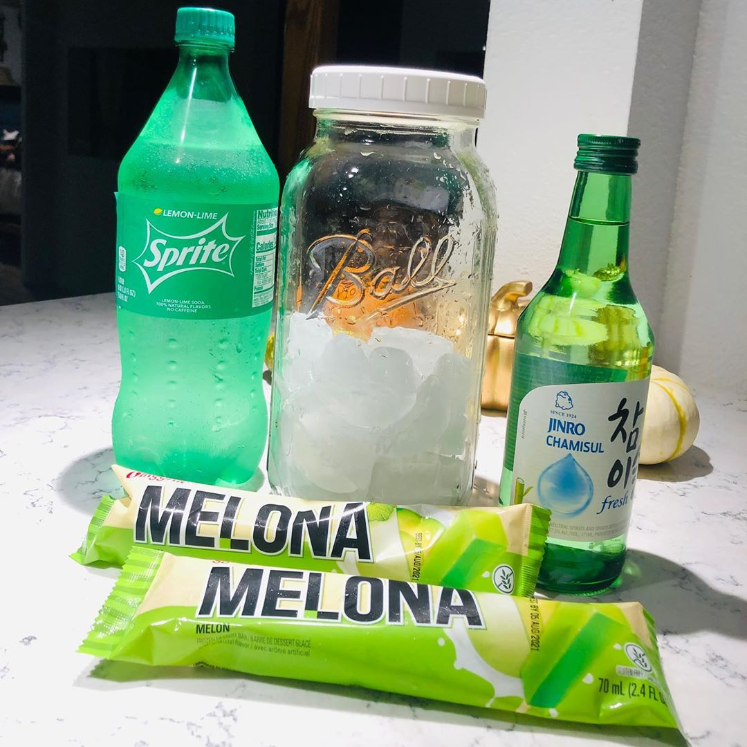 Melona bar soju