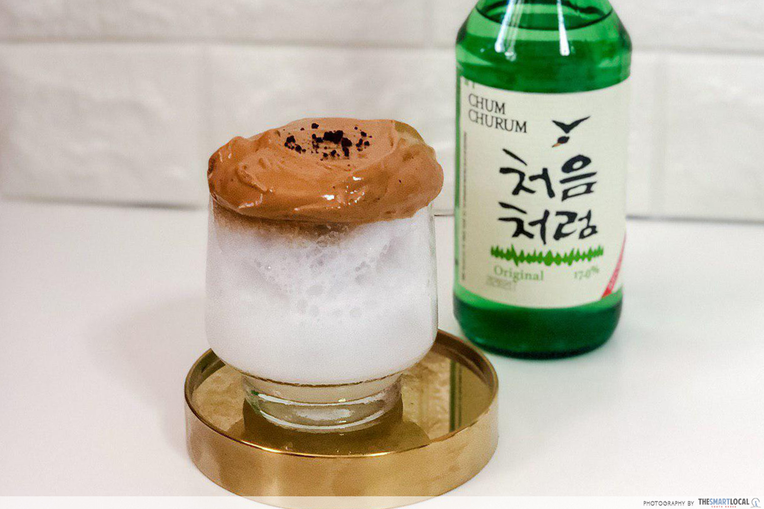 Dalgona coffee soju
