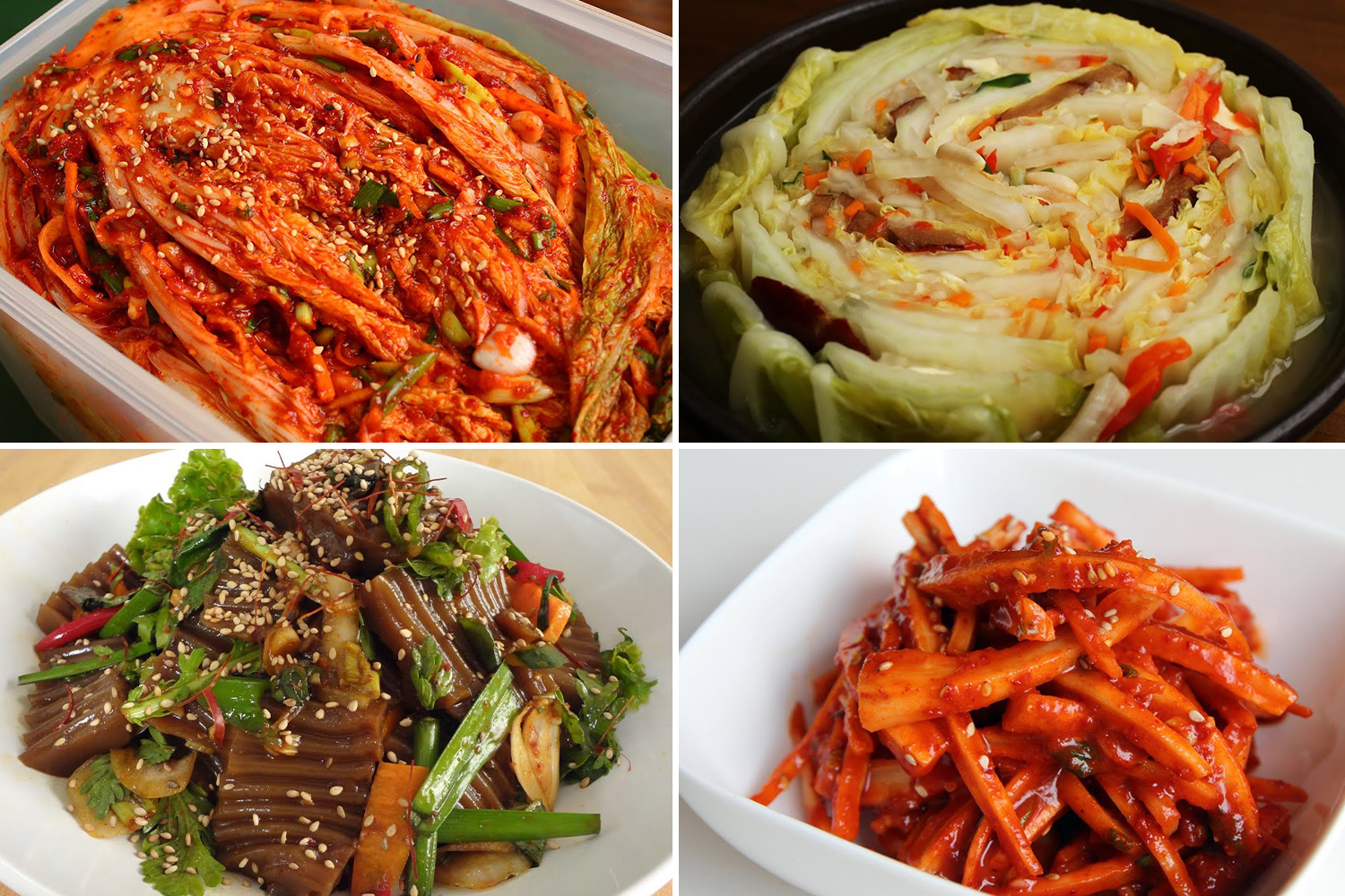 Korean Cooking Channels maangchi banchan side dishes