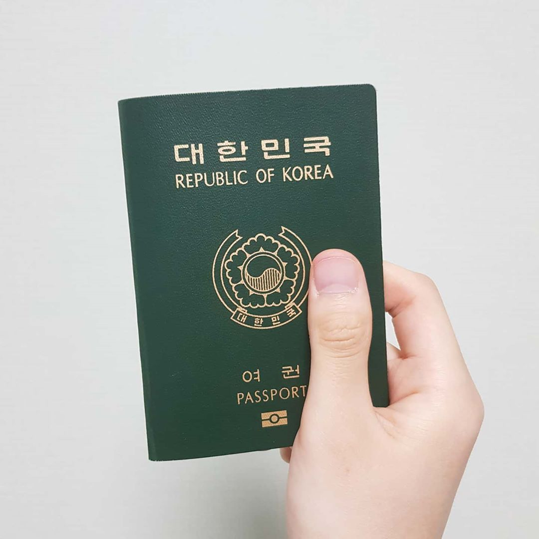 Moving To Korea - passport