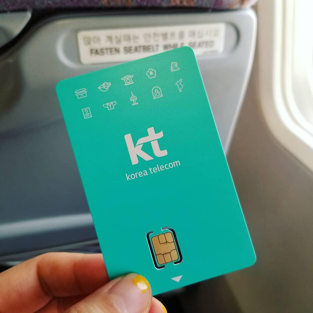 Moving To Korea - prepaid mobile sim card