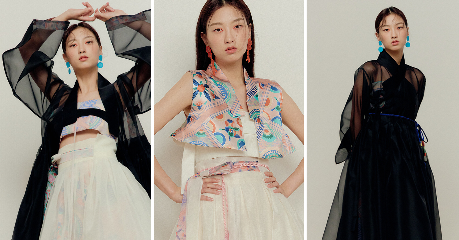 Modern Hanbok - Different pieces from Danha Seoul