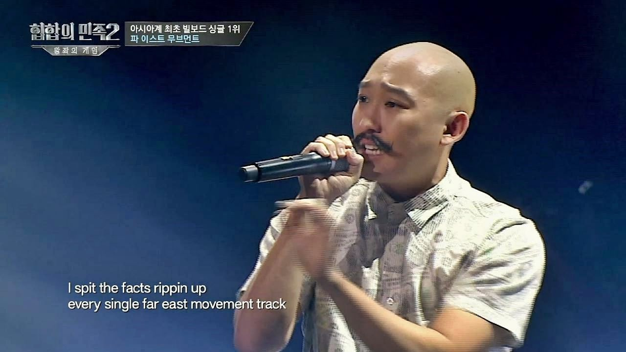 Korean Hip-hop Shows - Tribe of Hip Hop 2, Kev Nish
