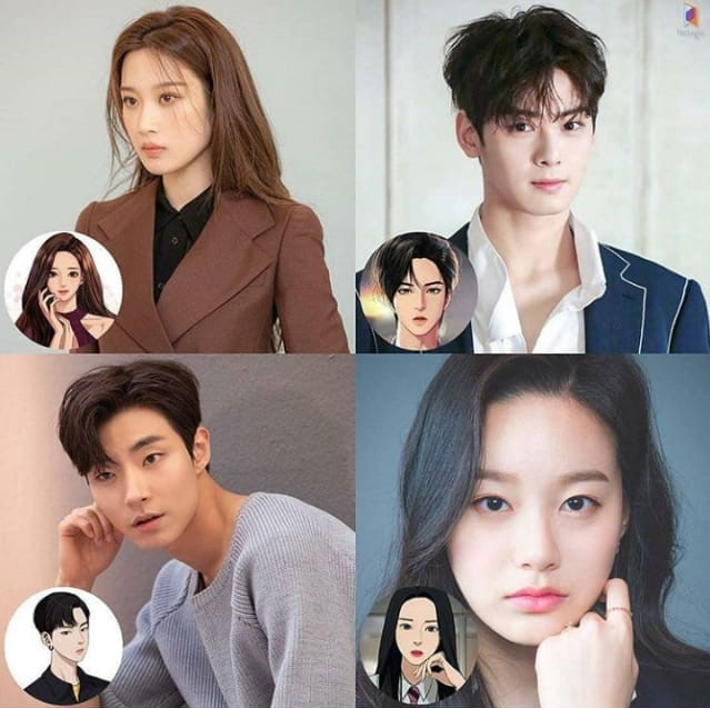 New Korean Dramas 2020 - True Beauty, Moon Ga-young, Cha Eun-woo, Hwang In-yeob, Park Yoo-na