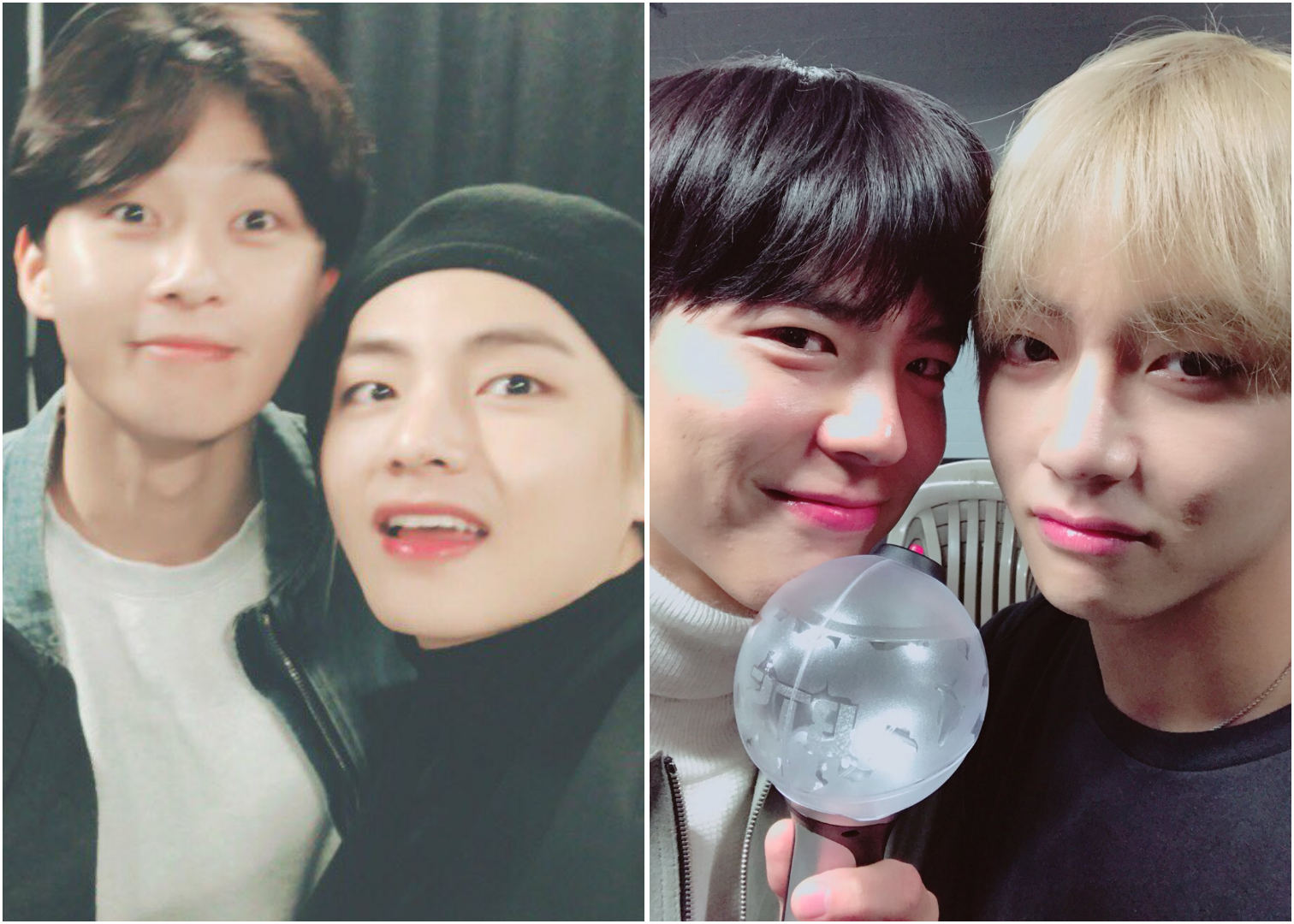 Park Seo-joon Record of Youth - BTS World Tour Love Yourself in Seoul, V, Taehyung