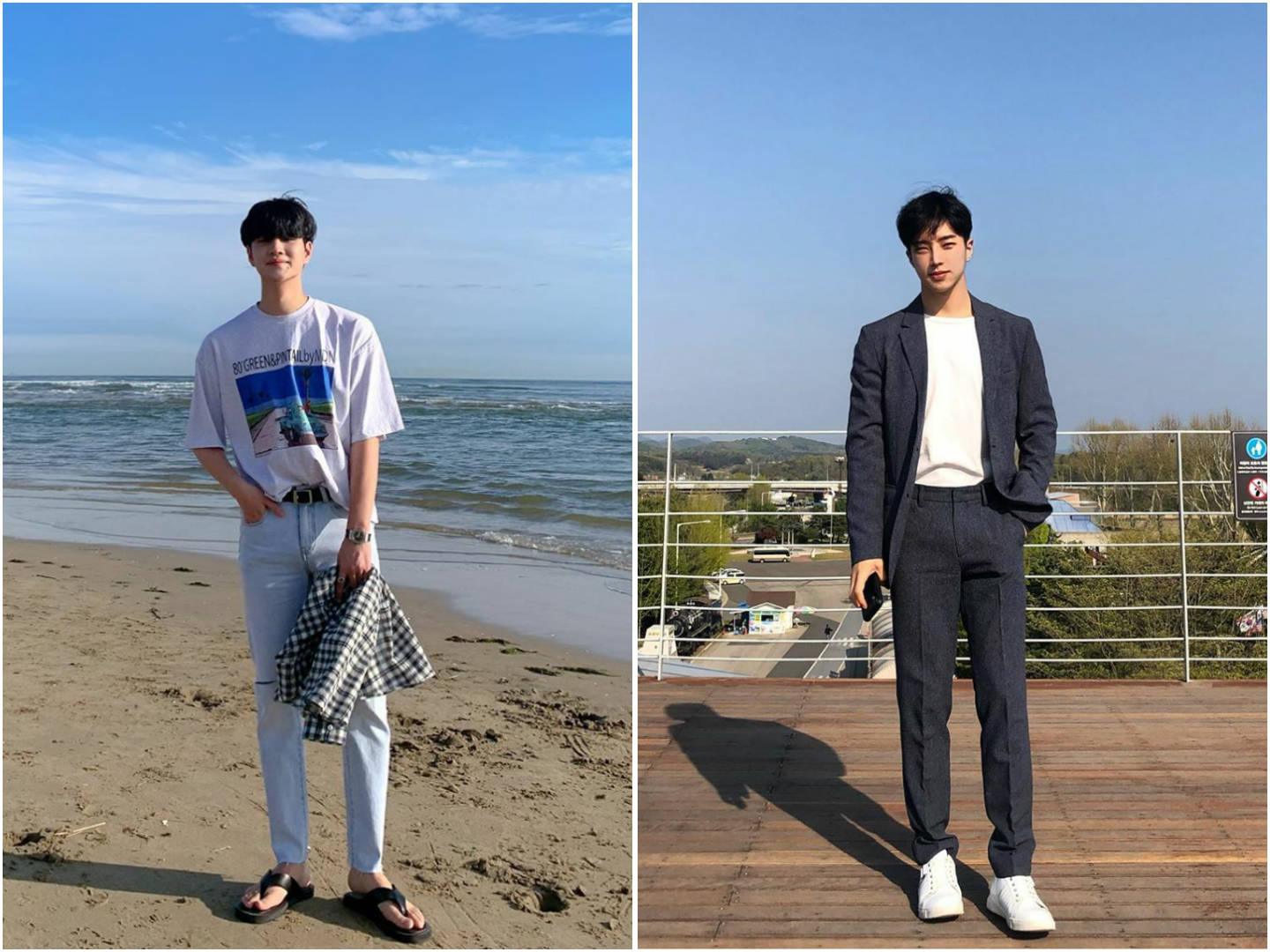 Photo Poses For Men - One hand in pocket for OOTDs