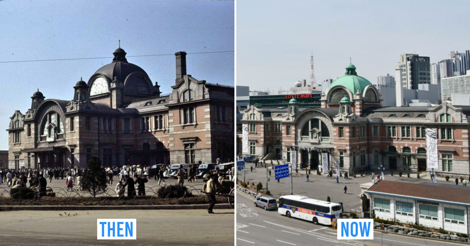 Seoul then and now - The Old Seoul Station