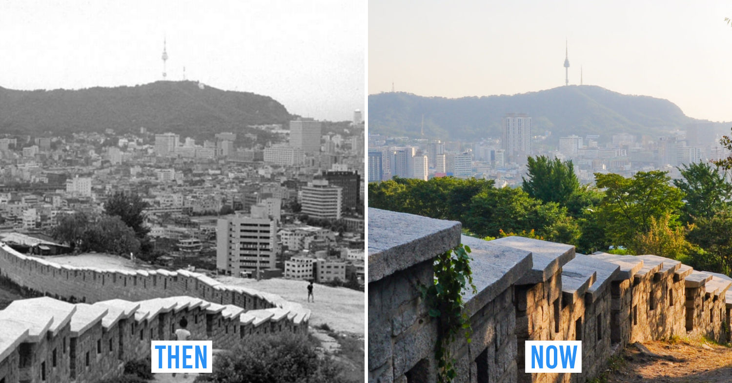 Seoul then and now - Seoul city wall