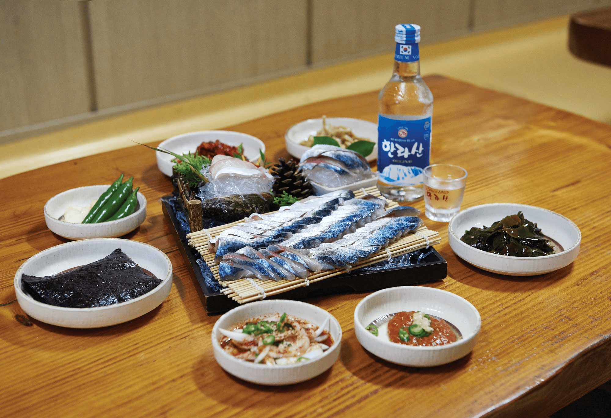Soju Brands in Korea - Hallasan with hui