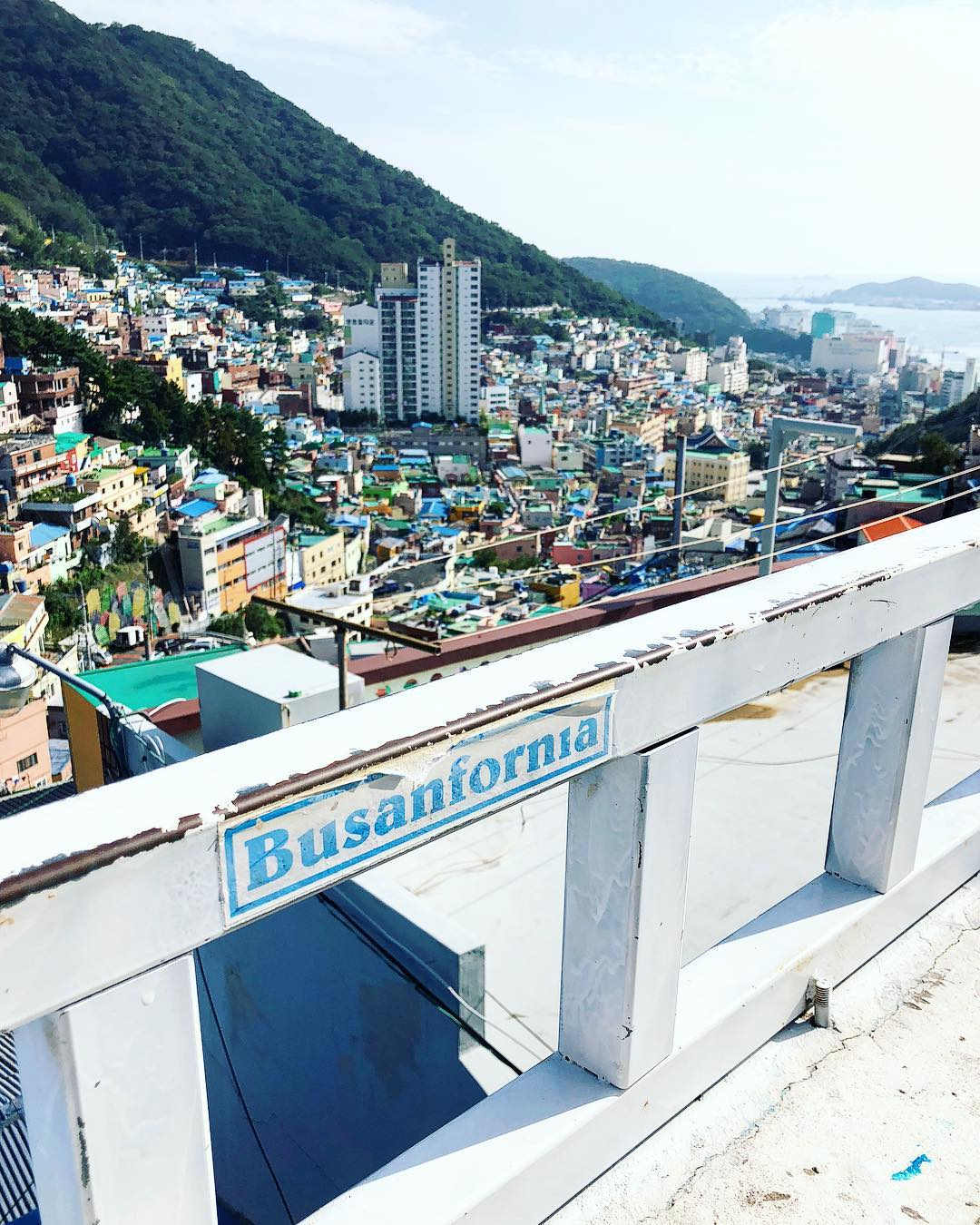 Gamcheon Culture Village - Bird's eye view