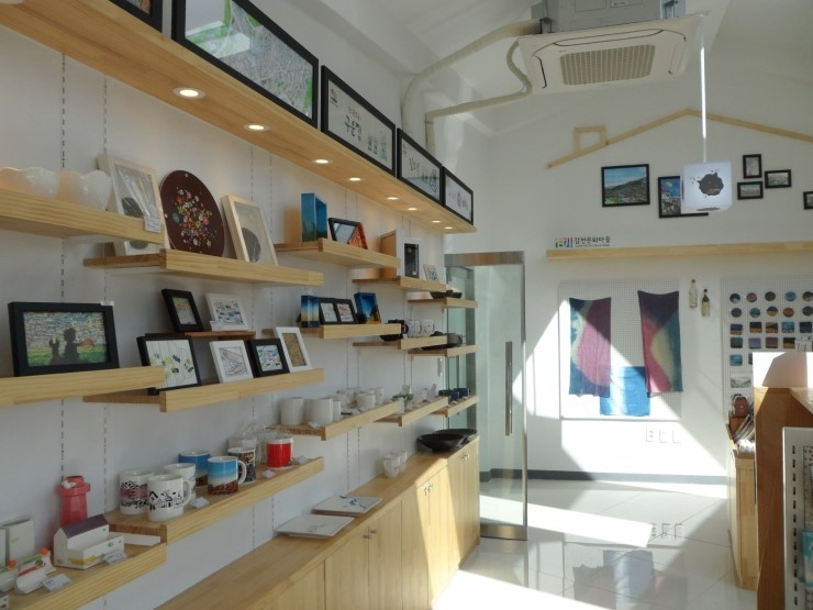 Gamcheon Culture Village - Asteroid B612 Souvenir shop