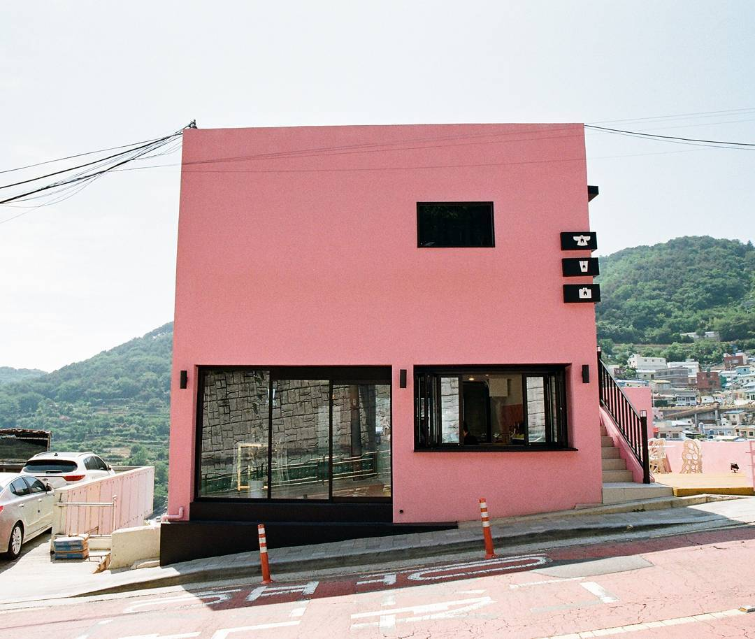 Gamcheon Culture Village - Coffee It House 커피잇집