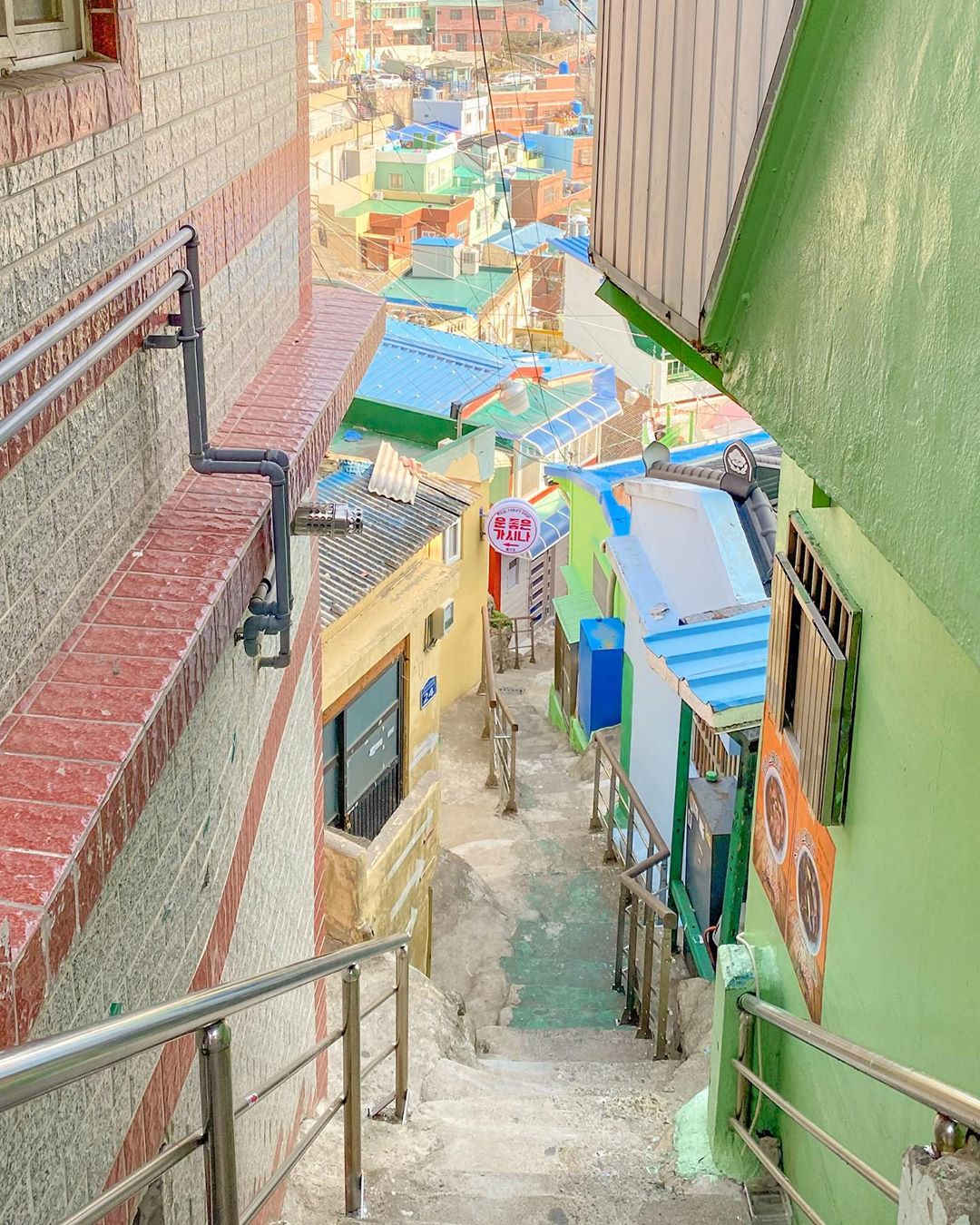 Gamcheon Culture Village - Narrow stairways