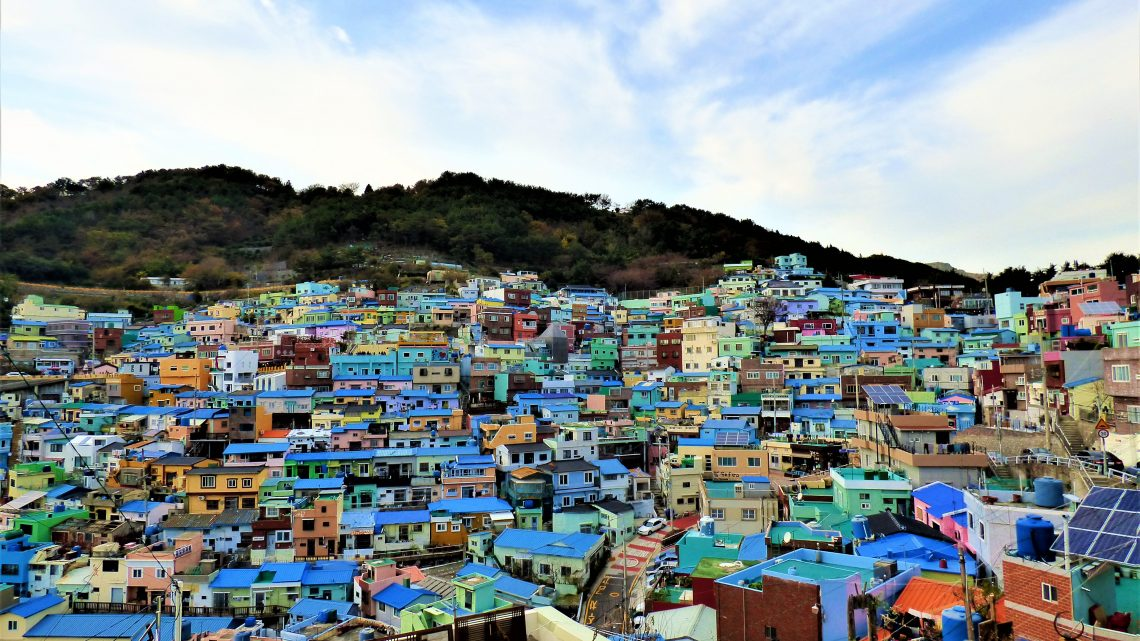 Gamcheon Culture Village - Panoramic view