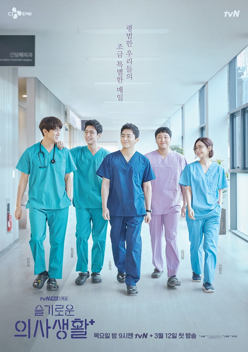 New Korean Dramas 2021 - Hospital Playlist Season 2