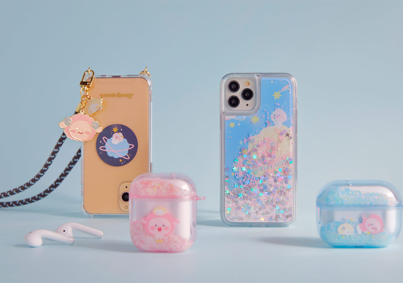 Pastel Lovely Apeach - Kakao Friends new collection, iPhone 11 Pro case