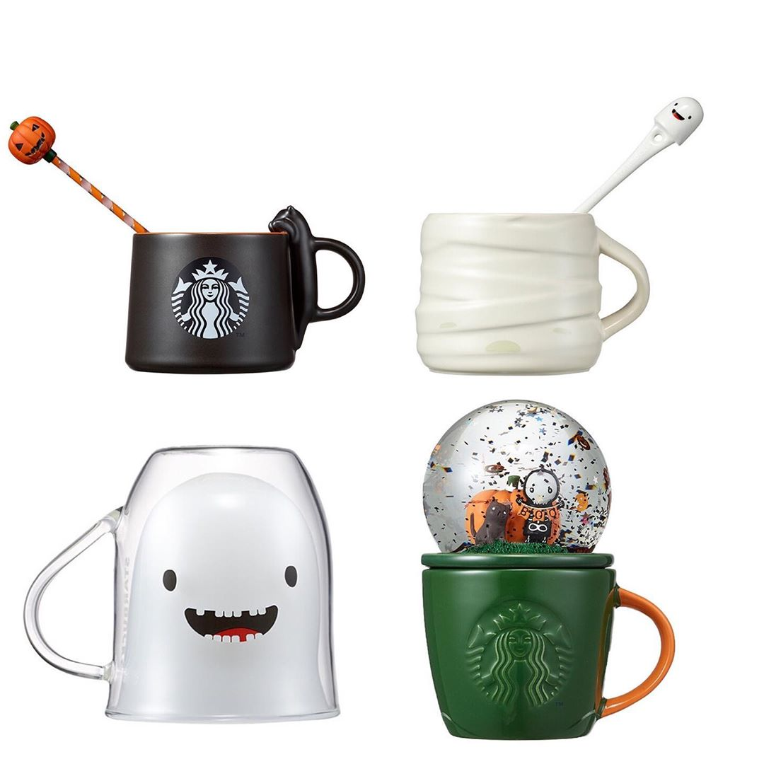 2019 Starbucks Korea Halloween Toffee Nut Candy Witch Bearista LED lamp Limited