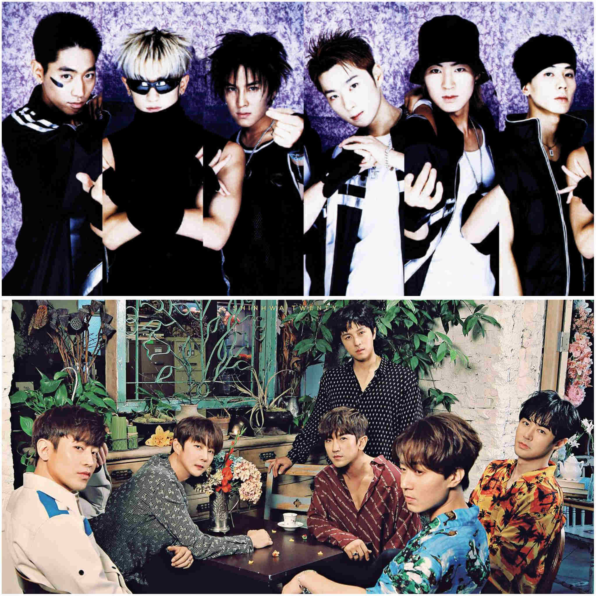 2nd generation K-pop groups - Shinhwa