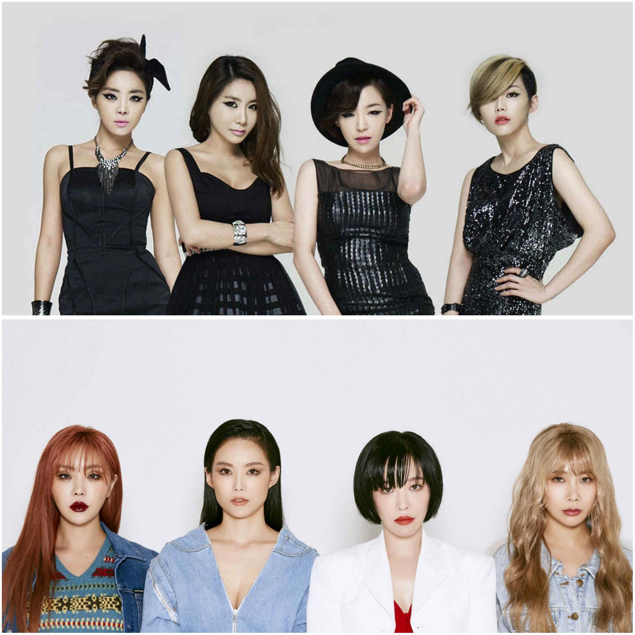 2nd generation K-pop groups - Brown Eyed Girls