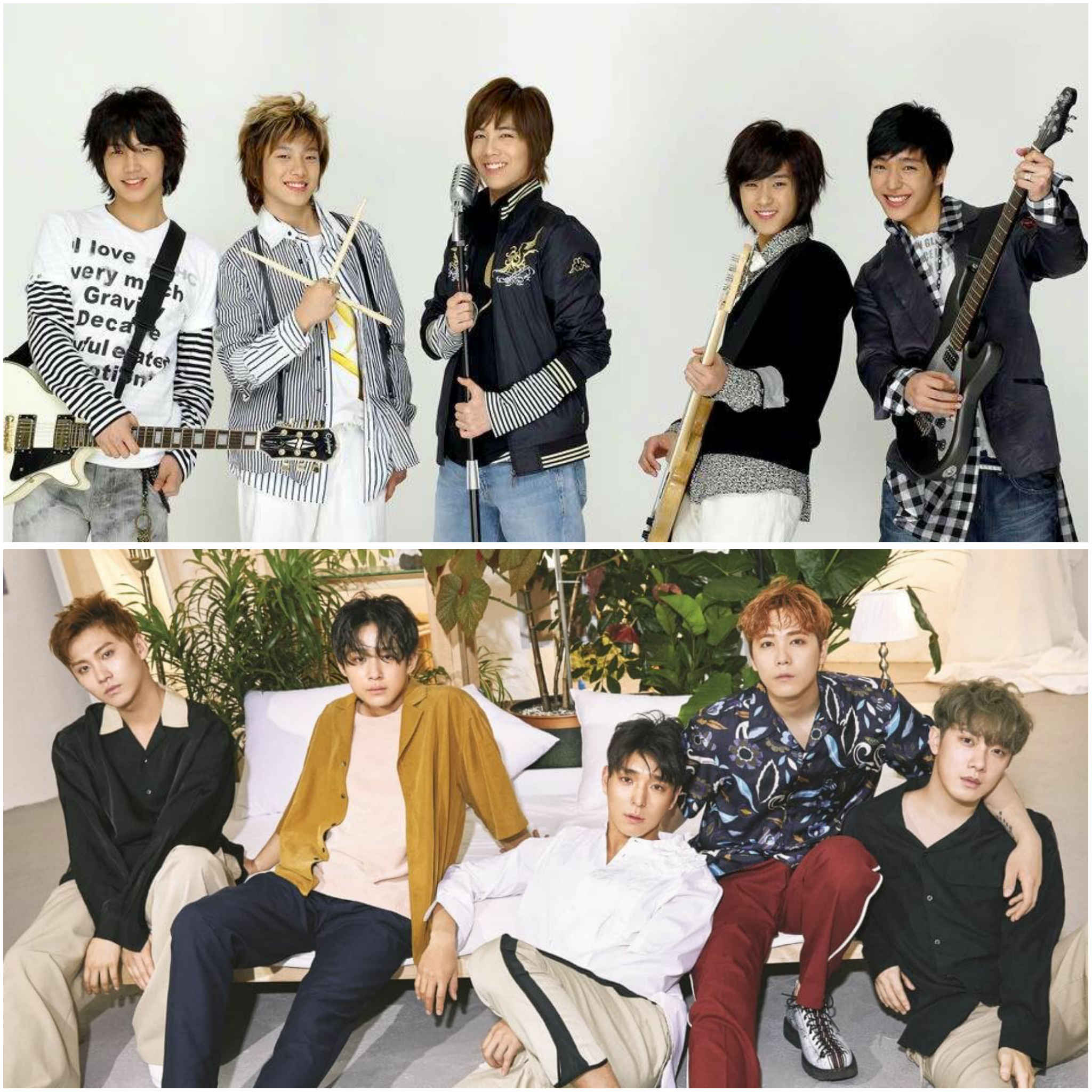 2nd generation K-pop groups - F.T. Island