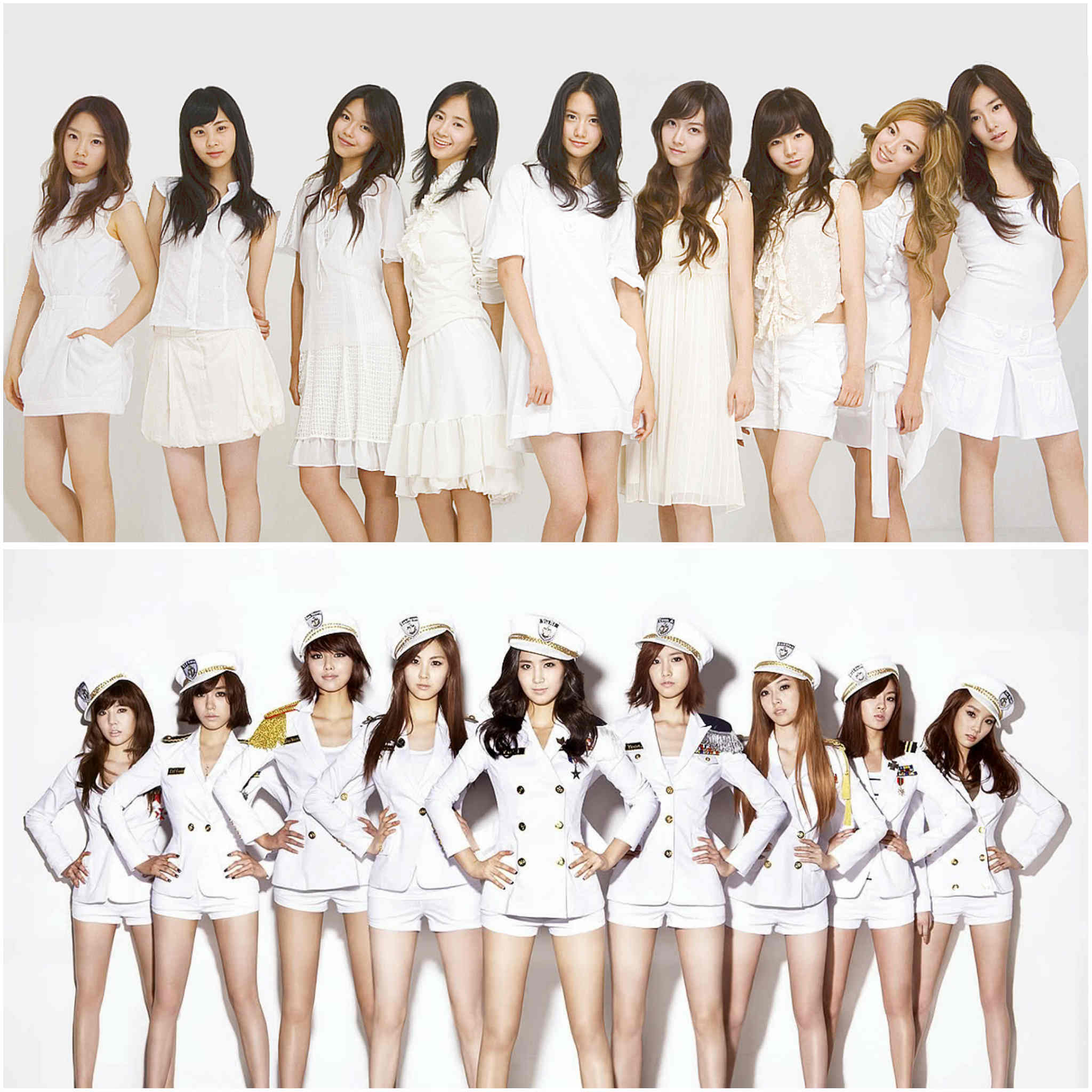 2nd generation K-pop groups - Girls' Generation/SNSD