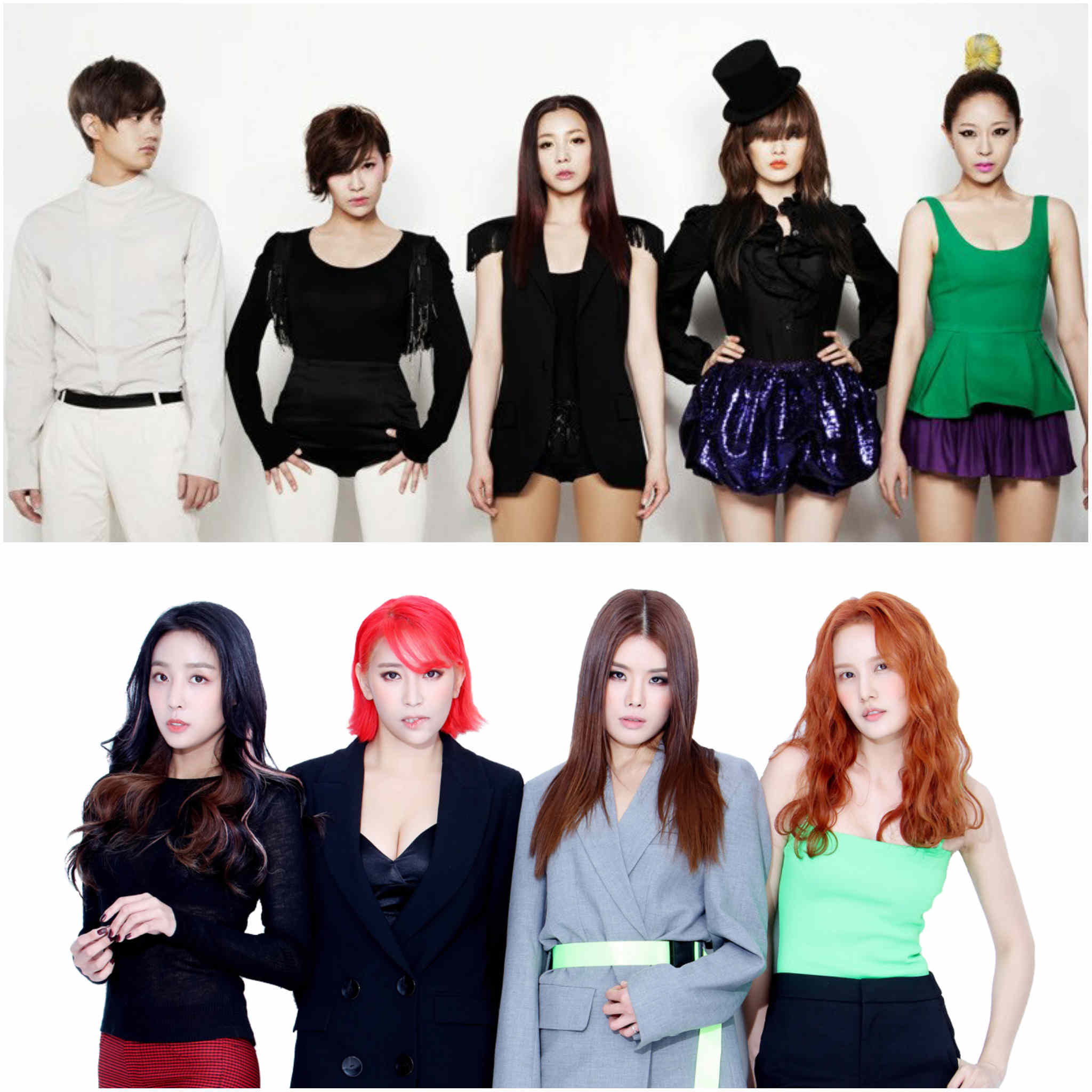 2nd generation K-pop groups - Sunny Hill