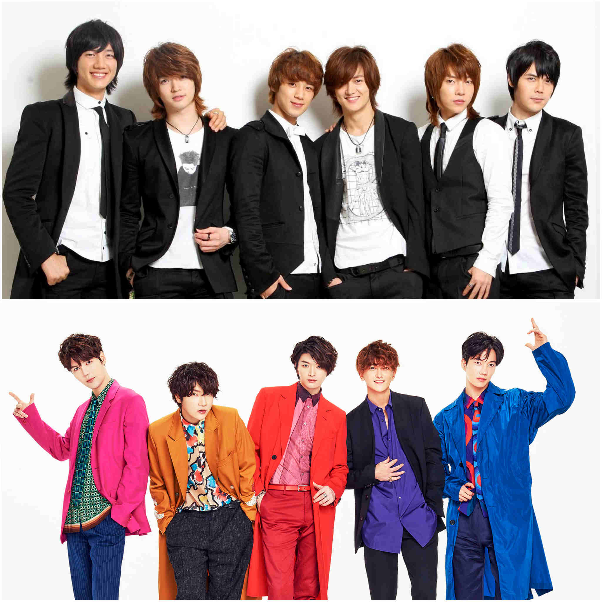 2nd generation K-pop groups - SUPERNOVA/Choshinsung/Choshinsei