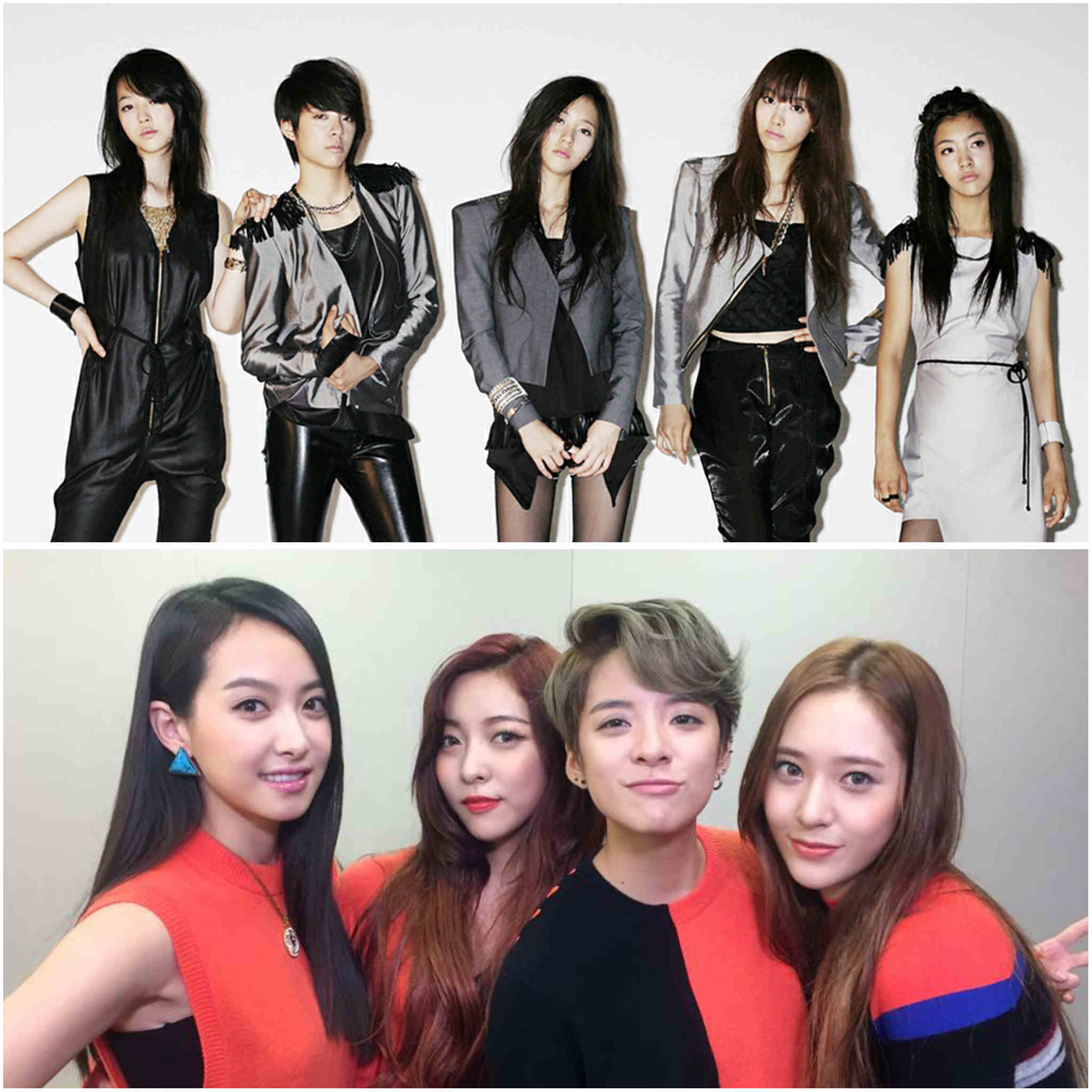 2nd generation K-pop groups - f(x)