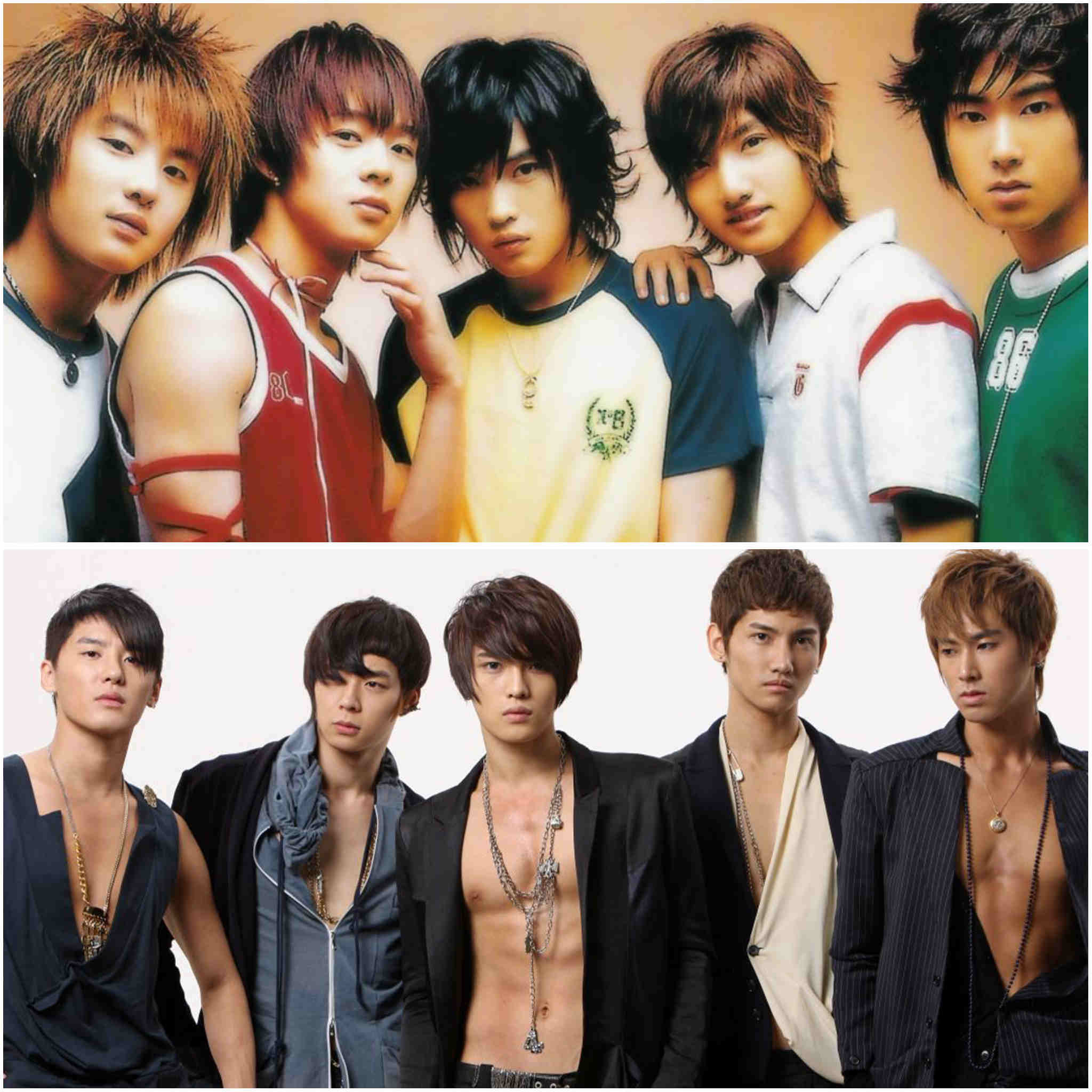 2nd generation K-pop groups - TVXQ!/DBSK/Tohoshinki