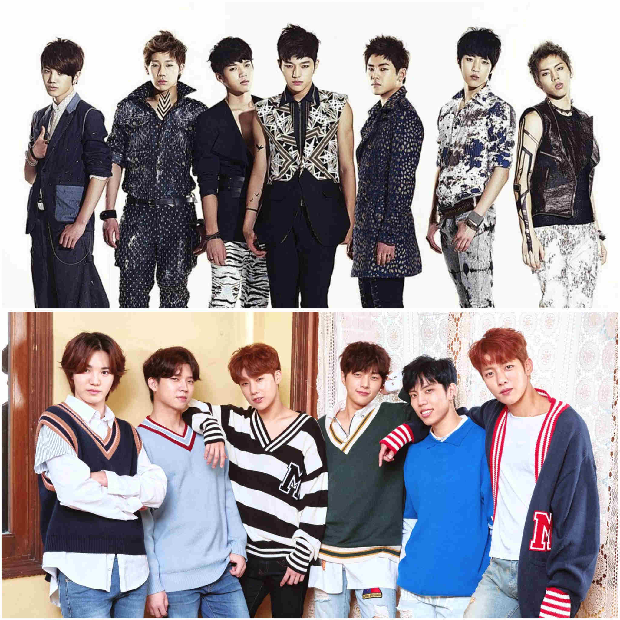 2nd generation K-pop groups - INFINITE