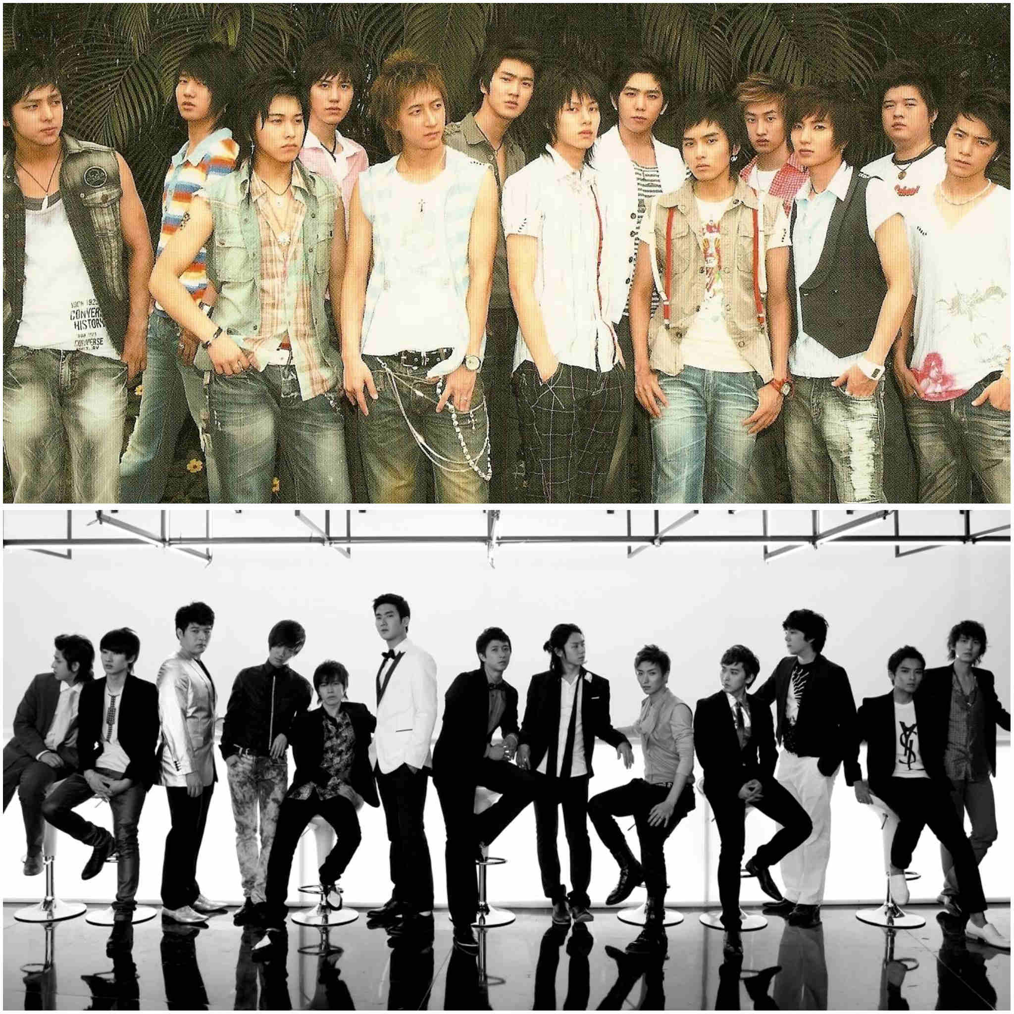 2nd generation K-pop groups - Super Junior