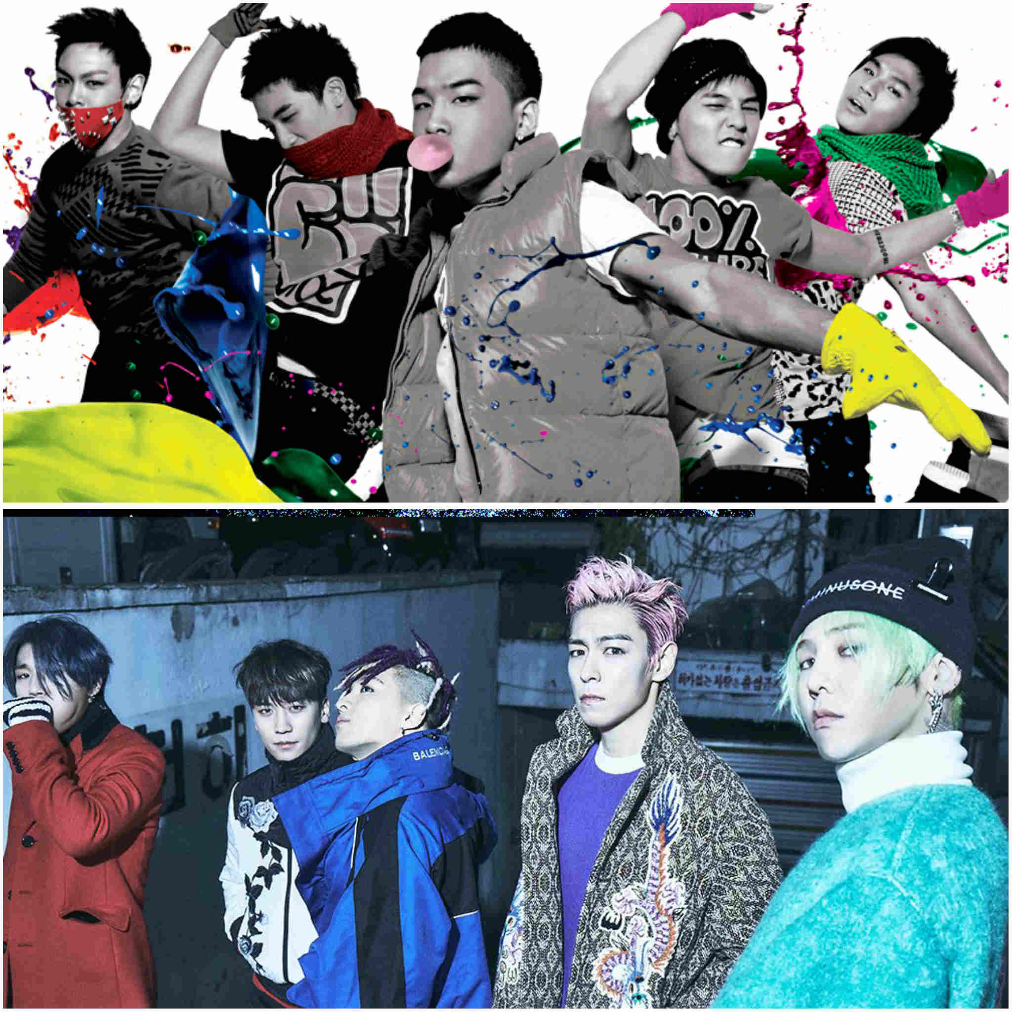 2nd generation K-pop groups - BIGBANG