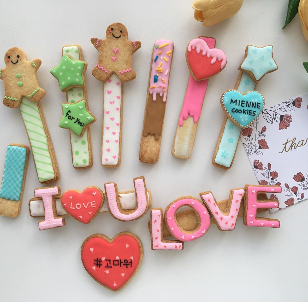 Pepero Day - Stick-shaped shortbread cookies
