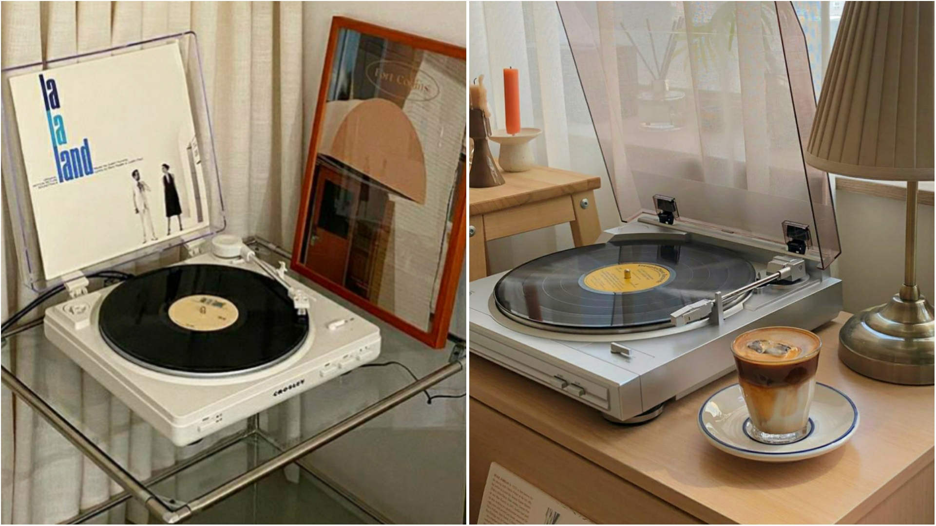 Korean Home Decor 2021 - Retro objects, turntables