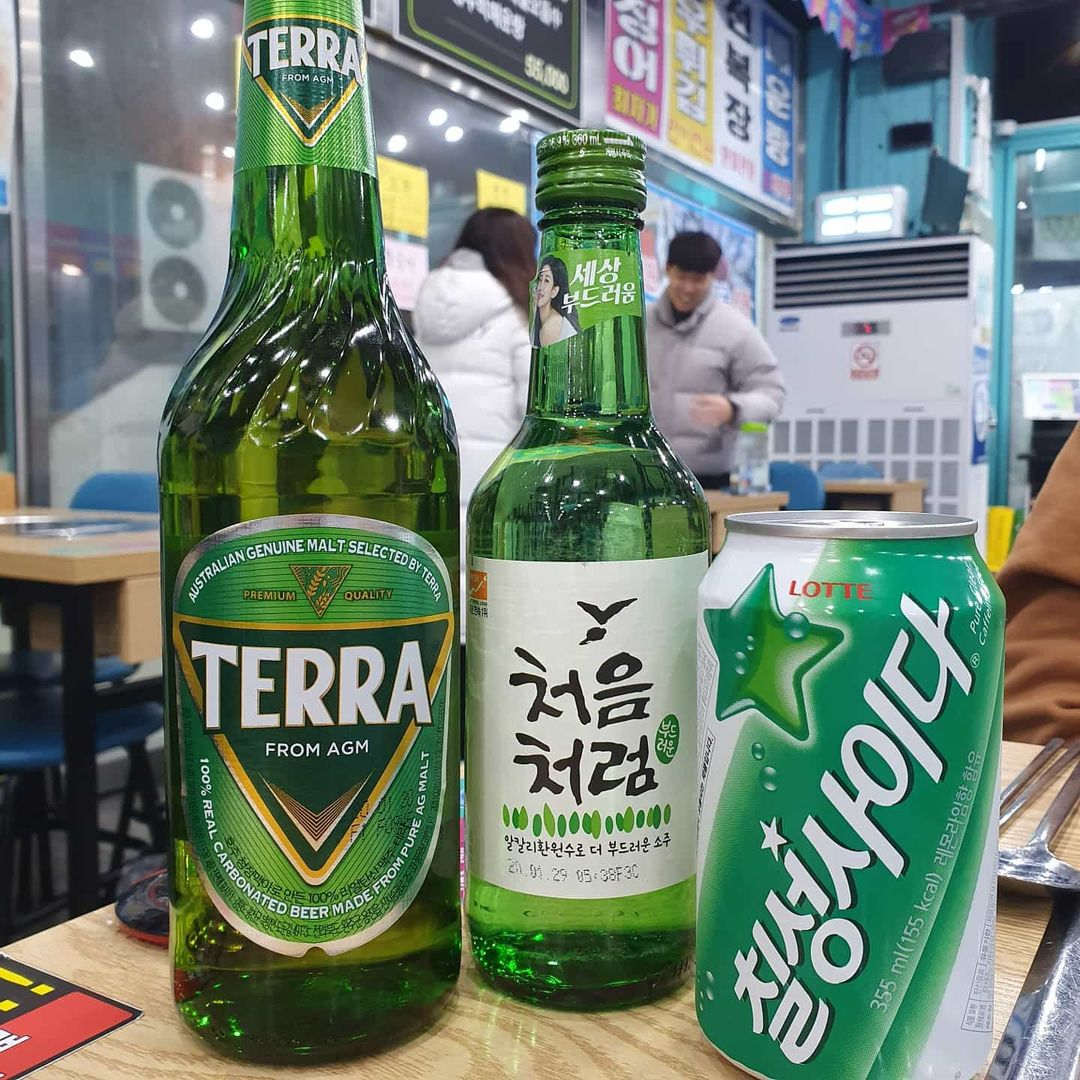 Mysteries in Korea - soju, beer, alcohol concoctions