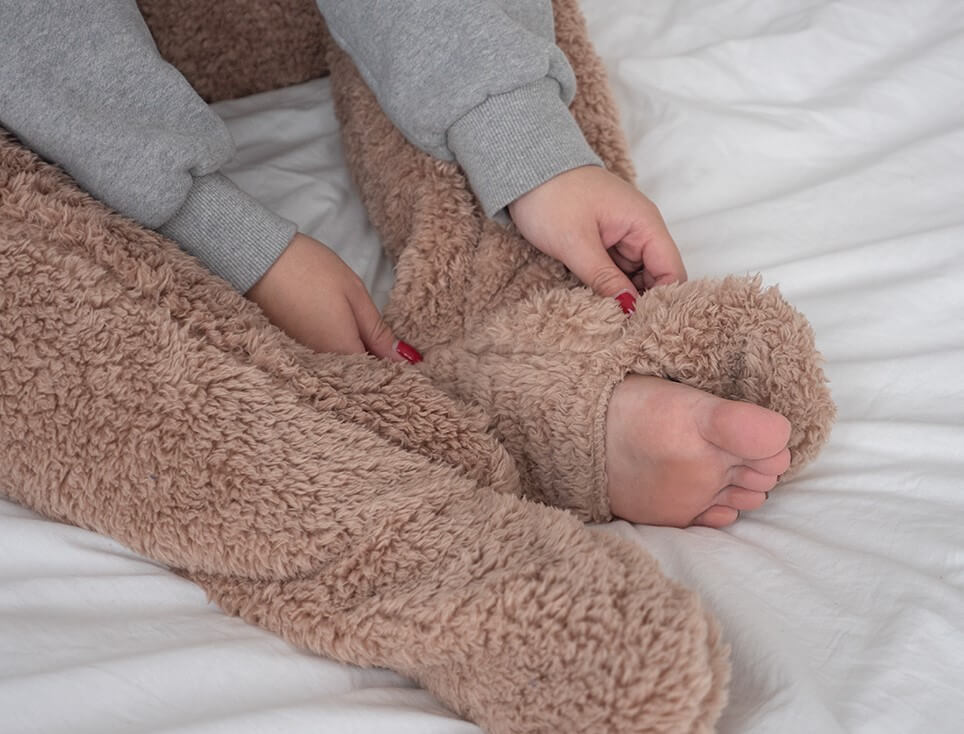 Korean Lifestyle Goods - teddy bear socks