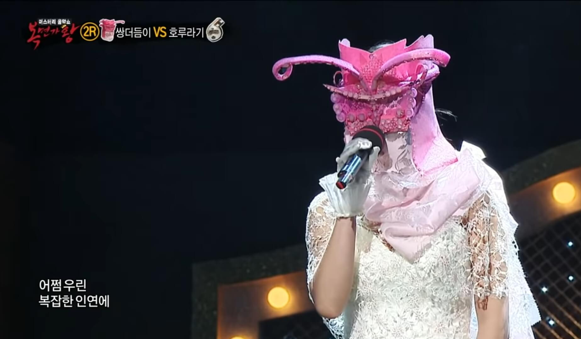 Masked Singer Korea - Ailee Double Feelers