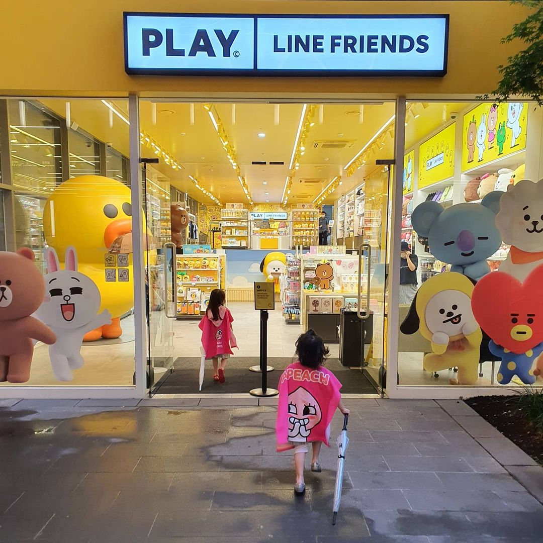anyoung insadong line friends store